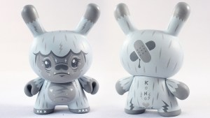 "Squink's Kono the Yeti 3"" Wild Ones Dunny, Newsprint Edition Hyperchase, 2018"