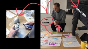 Paul Budnitz & Huck Gee Designing Janky for Superplastic