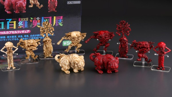 Takashi Murakami's The 500 Arhats Exhibition Official Capsule Figures