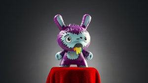 The Bots' Lovesick from the Designer Toy Awards Dunny Mini Series, 2017
