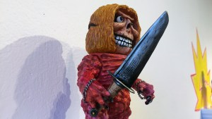 Rampage Toys' The Return of Rampage!! - Sword Grinning Hag DX (co-design with Mutant Vinyl Hardcore)