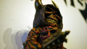 Rampage Toys' The Return of Rampage!! - Hell Demon Grinning DX Hag (co-design with Mutant Vinyl Hardcore)