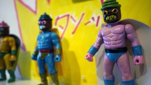 Rampage Toys' The Return of Rampage!! - Super Cupcake Luchadors (co-design with Frenzy Bros.)