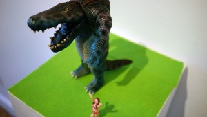 Rampage Toys' The Return of Rampage!! - Blue Skink Two-Toed Tom