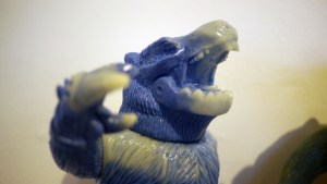 Rampage Toys' The Return of Rampage!! - Marbled Blue/Glow-in-the-Dark Revenge Kesagake