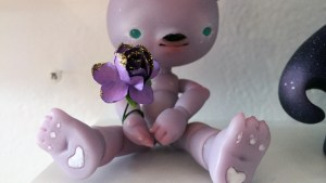 They Came From Planet Rainbow Sparkles - Louis Sophie / Nympheas Dolls' Soja (Panda)