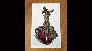 Tracy Tubera's Guardians of the Galaxy Print