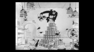 Vincent Scala's Mickey Monster - Walt Disney's Mickey Mouse in The Pet Store still
