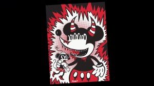 Vincent Scala's Mickey Monster - the original illustration