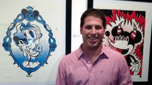 Vincent Scala's Mickey Monster - Vincent Scala & his art at Bunny Cutlet Gallery