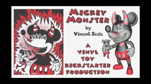 Vincent Scala's Mickey Monster - Kickstarter ad