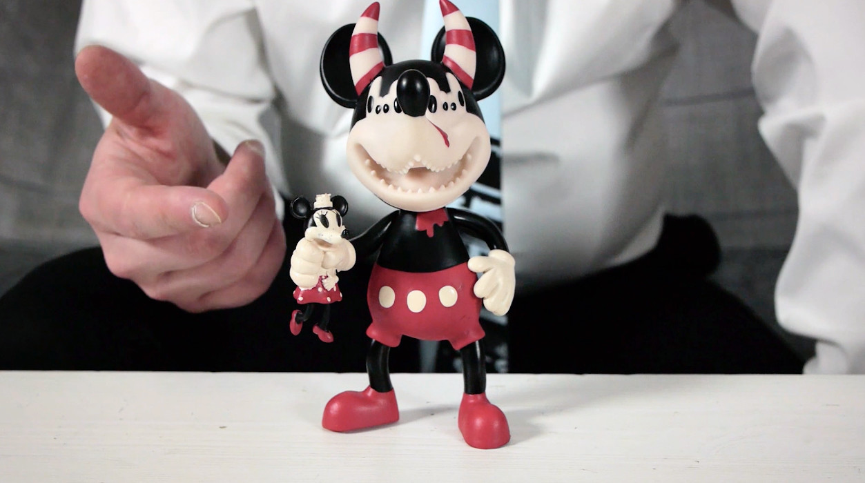 Vincent Scala's Mickey Monster - Minnie Mouse highlighted