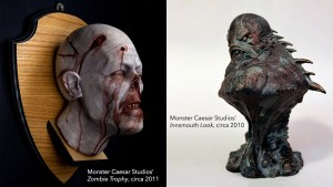 Monster Caesar Studios' Zombie Trophy and Innsmouth Look pieces