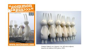 mr clement's Common Lapin, 2005