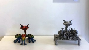 Roadkill Custom Art Show - Robin Tang Antics / 羅賓唐跟你鬧著玩的 & CHING 王寶慶袖珍藝術 Miniatures Arts
