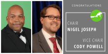 Congratulations to Planning Commission Chair Nigel Joseph and Vice Chair Cody Powell
