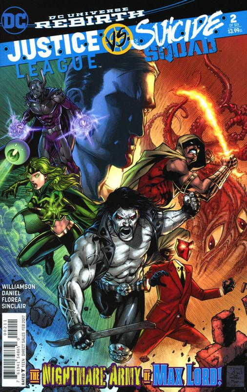 Justice League vs. Suicide Squad by Mark Morales
