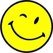 smiley winking face