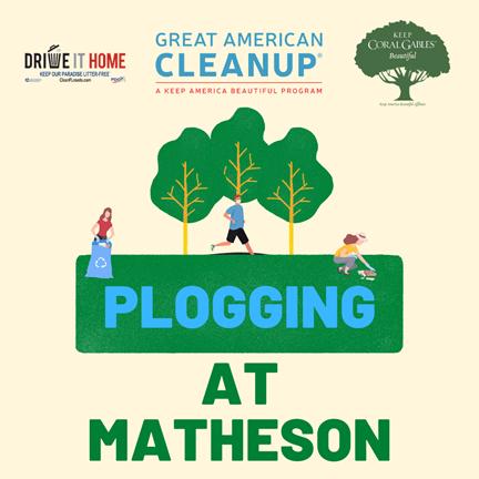 Plogging at Matheson
