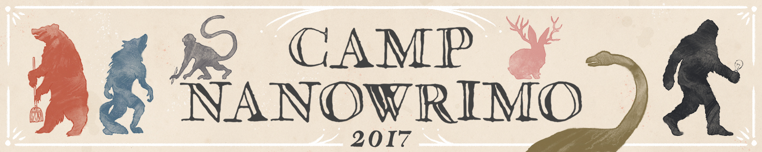 Image result for camp nanowrimo 2017 banner