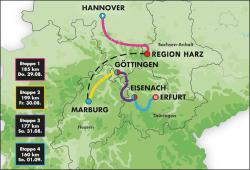 DT 19 Streckenkarte