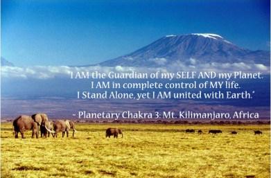 Planetary Chakra 3