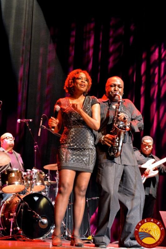Performing with Art Sherrod at TheARC