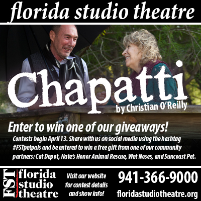 Florida Studio Theater Chapatti