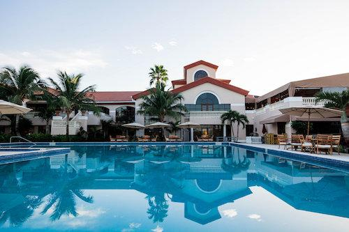 Enjoy the beautiful Florida weather at the pool at The Wanderers Club.