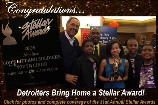 2016 Stellar Awards Coverage