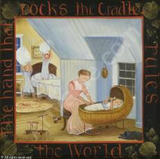 hand that rocks the cradle rules the world essay 15 the hand that rocks the cradle is the hand that rules the world  53 there is  only one pretty child in the world, and every mother has it.