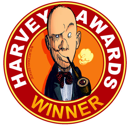 Harvey Award Recipient Logo