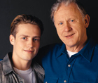 father with teen son