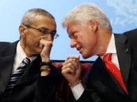 Podesta and Bill Clinton