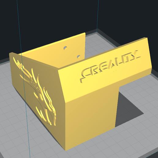 Download 3d Printer Designs Ender 3 Pro Lcd Case Logo