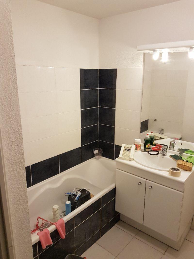 ajout carrelage salle de bain jusqu au