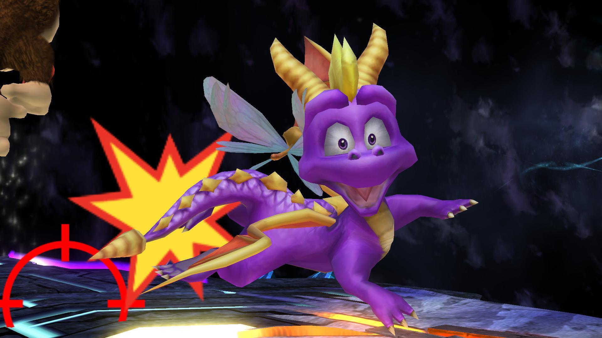Spyro And Sparx Super Smash Bros Wii U Works In Progress