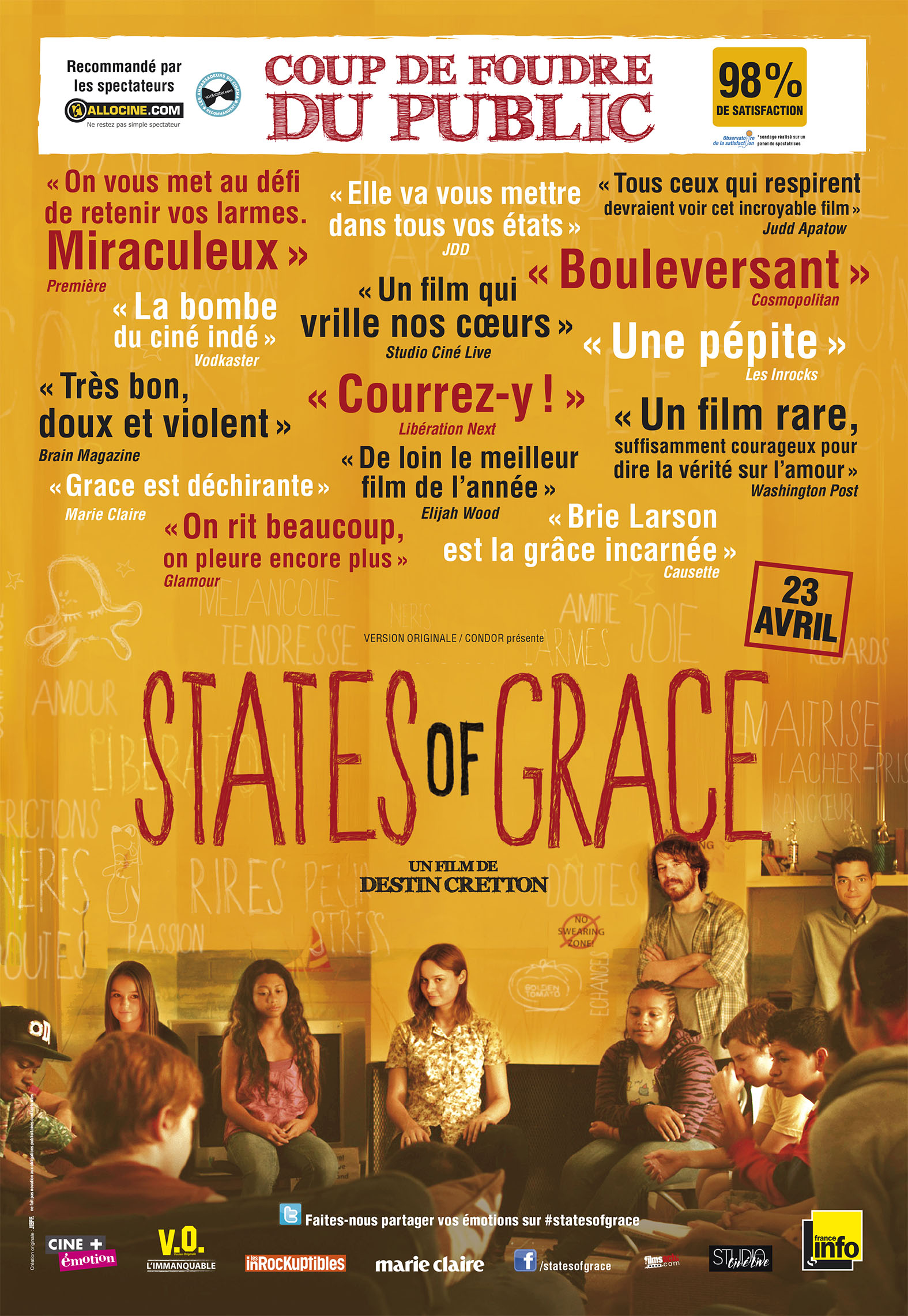 States of Grace - Affiche