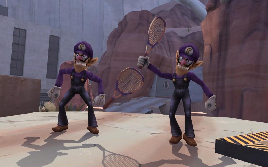 Super Smash Bros Waluigi Beta