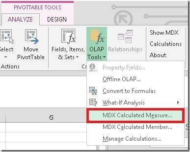 Excel_Create_MDX_calculated_measure
