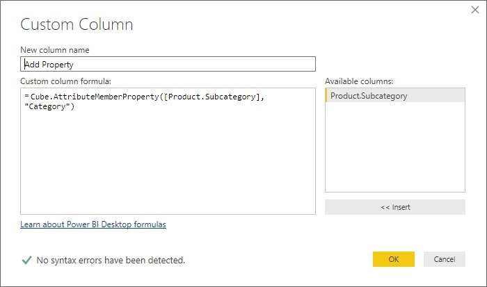 Microsoft Power BI Self Service BI solution and components from