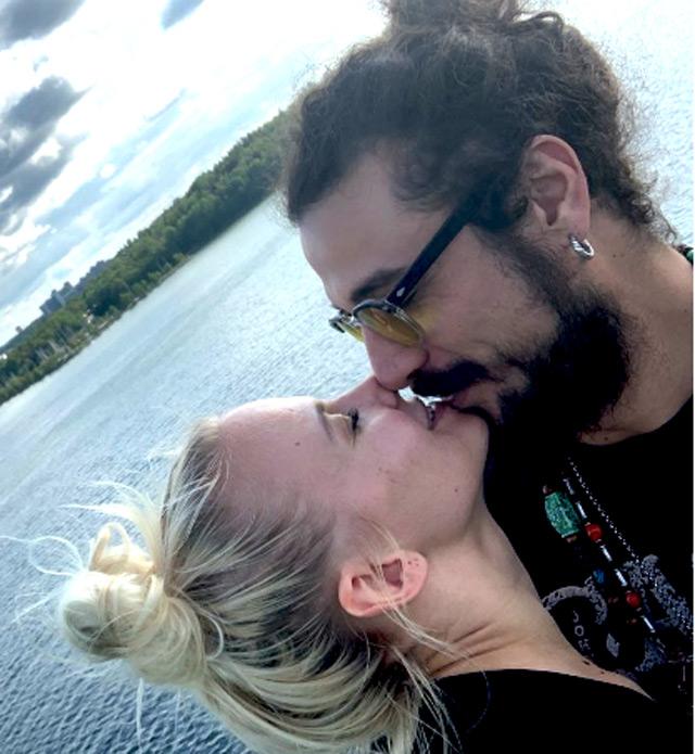 Daniel Pablo Osvaldo e Veera Kinnunen escono allo scoperto con questa foto