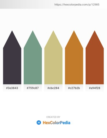 Palette image download - Dim Gray – Cadet Blue – Tan – Peru – Sienna