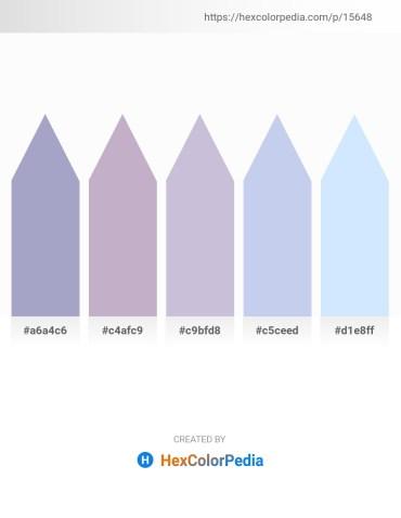 Palette image download - Light Steel Blue – Light Steel Blue – Light Steel Blue – Light Blue – Alice Blue