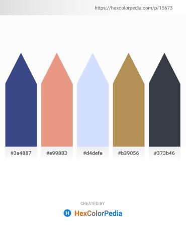 Palette image download - Dark Slate Blue – Dark Salmon – Alice Blue – Dark Khaki – Dark Slate Gray
