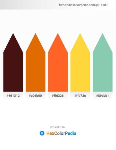Palette image download - Indigo – Dark Orange – Tomato – Gold – Medium Aquamarine