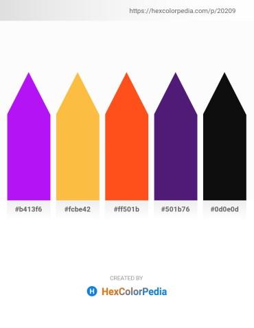 Palette image download - Dark Violet – Sandy Brown – Orange Red – Midnight Blue – Black