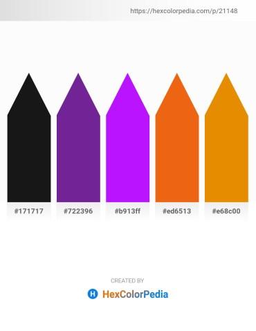 Palette image download - Black – Dark Orchid – Dark Violet – Chocolate – Dark Orange