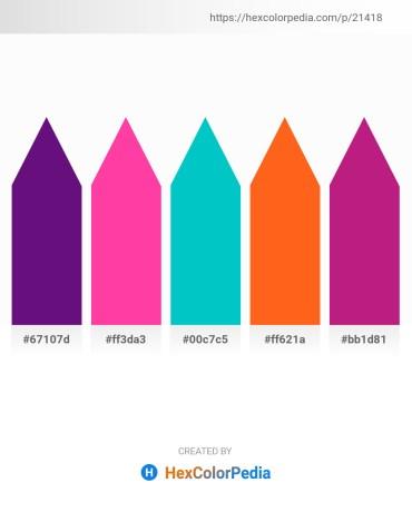 Palette image download - Indigo – Deep Pink – Dark Turquoise – Orange Red – Medium Violet Red