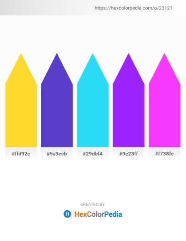 Palette image download - Gold – Slate Blue – Deep Sky Blue – Dark Violet – Dark Slate Gray